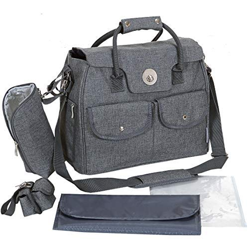 LCP Kids Wickeltasche RIO GREY