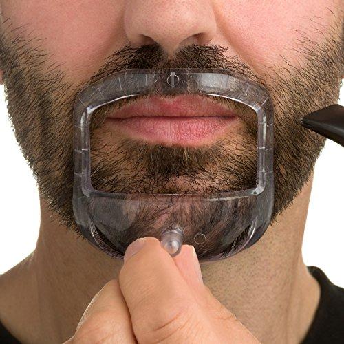 goatee template saver get the sharpest goatee with mr beard co men 39 s shaving template. Black Bedroom Furniture Sets. Home Design Ideas