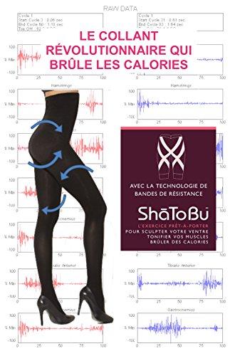BODY WRAP Collant Soins Corps Taille Haute - Vu à la TV - Brûle Graisse - Tonification Musculaire Perte de Poids - Maintien - Exercice Prêt-... 24