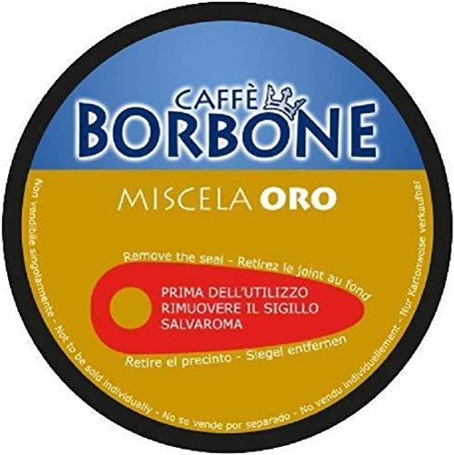 90 Capsule Caffè Borbone Miscela ORO Compatibili Nescafè Dolce Gusto