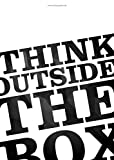 "Startup Poster ""Think outside the box"" Motivation Spruch Office 59,5cm x 42cm DIN A2 Plakat Coworking space Poster Büro Wandbild Wanddekoration Business Bild Motivating Start up Poster Zitate Sprüche"