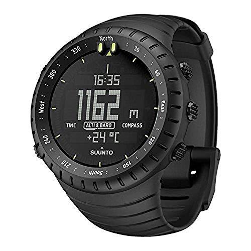 Suunto Core All Black, Smartwatch, Diametro della cassa: 49.1 mm, Nero