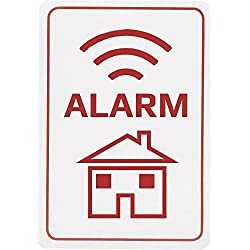 Denver ASA-10 Warnaufkleber Alarm, 3-Stück, 1 Stück