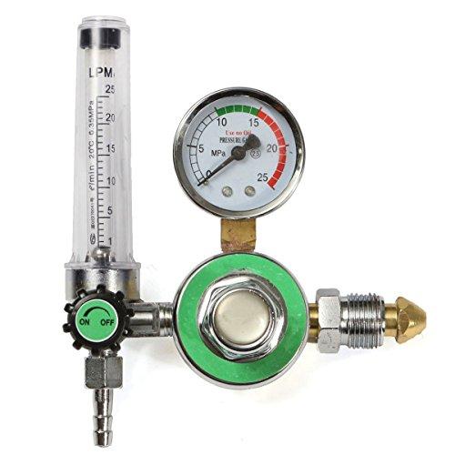 HITSAN INCORPORATION Argon CO2 Gas Mig Tig Flow Meter Welding Weld Regulator Gauge Welder GGA580 Fits