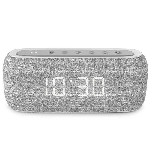 HAVIT Altoparlante da Casa Portatile Bluetooth con Bassi da 10 W Dual Driver Pure, Tempo di...