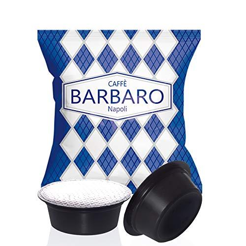 100 CAPSULE CAFFE' BARBARO COMPATIBILI A MODO MIO MISCELA CREMOSO