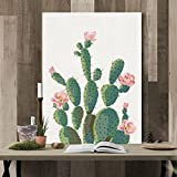 Cuadros De Cactus Para Decoración De Salón