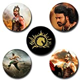 Capturing Happiness Bahubali Button pin Badge Pack Of 5