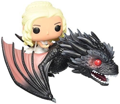 Funko Pop! Paseos - Juego de tronos (Game of Thrones) - dragón y Daenerys figura