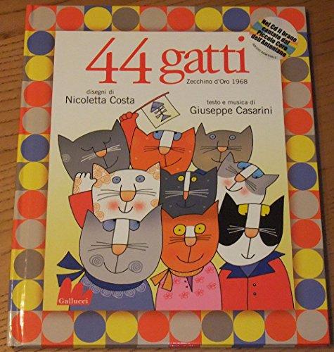 44 Gatti Zechino D'Oro 1968 Libro + Cd Audio
