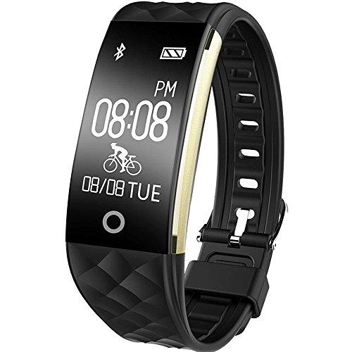 montre connect e ganriver fitness tracker d 39 activit cardiofrequencemetre etanche ip67 montre. Black Bedroom Furniture Sets. Home Design Ideas
