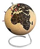 SUCK UK Cork Globe Globo di Sughero-Versione Large, Legno, Marrone, Grande