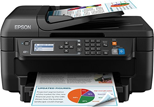 Epson WorkForce WF-2750DWF Stampante a Getto d`Inchiostro, Multifunzione (Stampante, Scanner,...