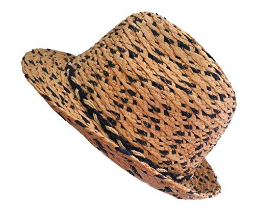 Damenhüte Triby Strohhut Uniex Narurstroh Garten Urlaub Sommerhut Sonnenschutz (56)