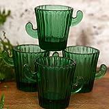 Conjunto De 4 Vasos Cactus De Shot