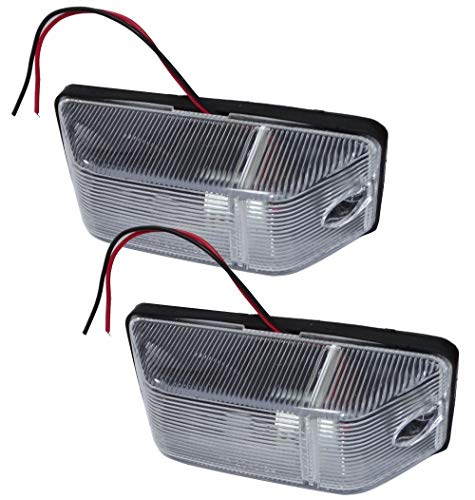Aerzetix C41210-2 luci di ingombro per Camion, rimorchio, utilitarie, 12 V/24 V