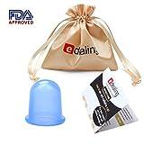 Edealing 1PCS Pequeño Copas cuerpo anti celulitis de vacío de silicona masaje con ventosas Copas Cuidado de la Salud