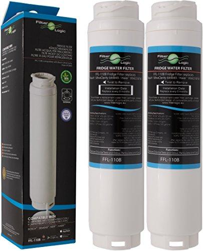 2x FilterLogic FFL-110B Filtro acqua compatibile con 3M UltraClarity 00740560 , 740560 / 644845 per...