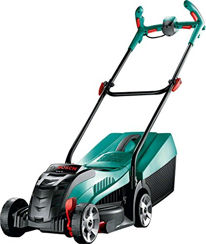 A cordless version of our best pick, it has all the features of our corded model but with the freedom to mower without a power cable to contend with. Charging fully in only 70 minutes or to 80% in only 40 minutes, this model will offer you a decent running time of about an hour and is good for mowing lawns up to 150 m². For those who have small gardens and they need freedom from cords, this quality cordless lawnmower is out top recommended choice. The only downside is cost, it is not cheap but they are worth every penny.