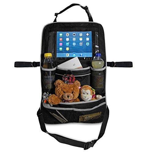 Proteggi Schienale con Supporto Porta Tablet per Bambini - Car Backseat Organizer Verticale da...