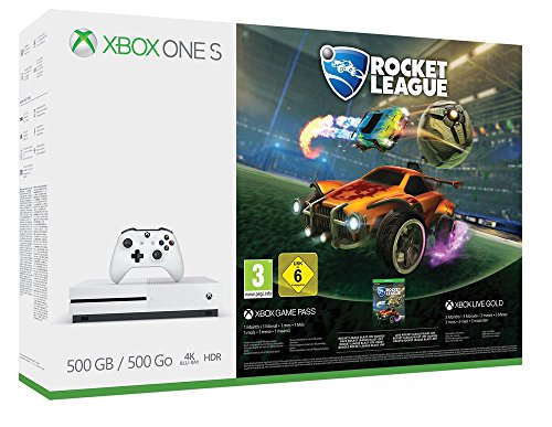 Xbox One S - Consola 500 GB + Rocket League