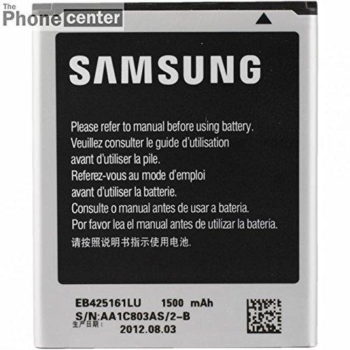 TBC EB425161LU Samsung Original Batteria per Samsung Galaxy Ace 2 i8160, Trend (S7560), Trend Plus, S7580, S3 mini (i8190), 1500mAh, Bulk