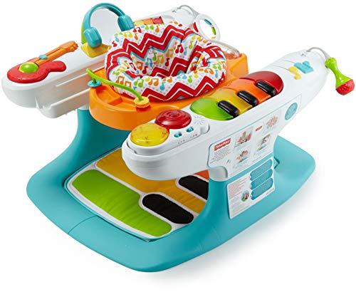 Fisher-Price Fisher-Price - Baby Gear Baby Piano 4 In 1, con Oltre 12 Giocattoli e Attività Tutto...