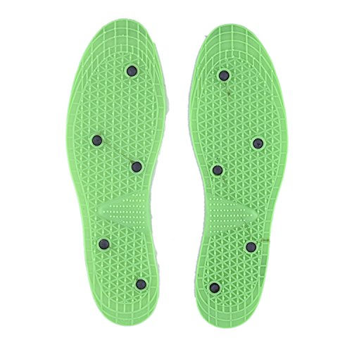 LBE MART Acupressure Health Care Systems Magnetic Shoes Insole for Pain Relief