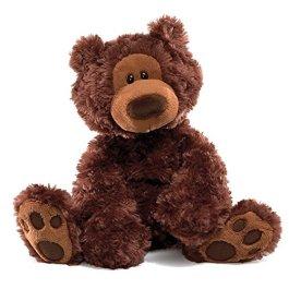 Gund Philbin Bear Small 33cm (Chocolate)