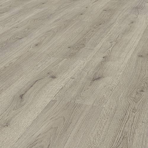 Pavimento in Laminato Kronotex, Rovere Beige Niagara, Confezione da 2,390 m²/AC3