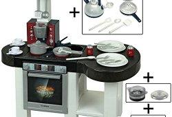 *Klein 9007 – Jeu d'imitation – Cuisine Bosch Cool avec Casserole à Bulles et Accessoires Acheter en ligne