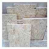 1m² saldi di 25mm OSB/3 Pannelli a scaglie orientate tagliati a uso luogo umido nella norma DIN EN 300 scampoli di pannelli strutturali di legno