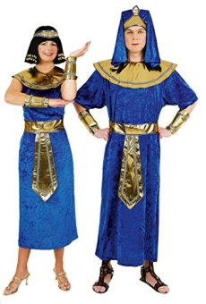 Disfraz de Egipto Faraón Señor Disfraz Faraón Disfraz König pharaonen gewand Egipto ägypterkostüm König Disfraz