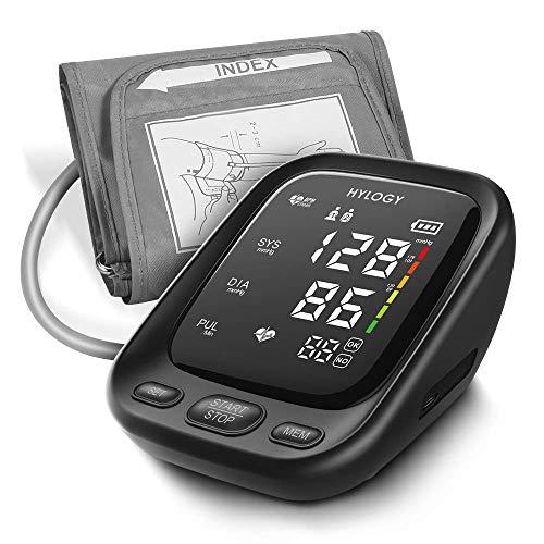 HYLOGY Misuratore Pressione da Braccio, Sfigmomanometro da Braccio Pressione Arteriosa Digitale...