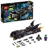 LEGO-DC Comics Super HeroesTM BatmobileTM  la poursuite du JokerTM Jouet DC Comics Enfant 7 Ans et Plus, 342 Pièces 76119