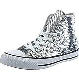 Converse Chuck Taylor All Star Sequin Hi Silver Textile 38 EU