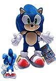 Sonic the Hedgehog 34cm Peluche Sonic X Echidna Bambola Blu Videogiochi Sega
