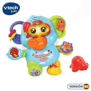 VTech-123-515322 Elefante al Agua bebé, Juguete para baño, Color (3480-515322)