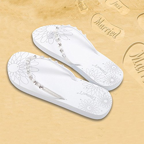 Infradito Donna Just Married - Bianco (38-39)
