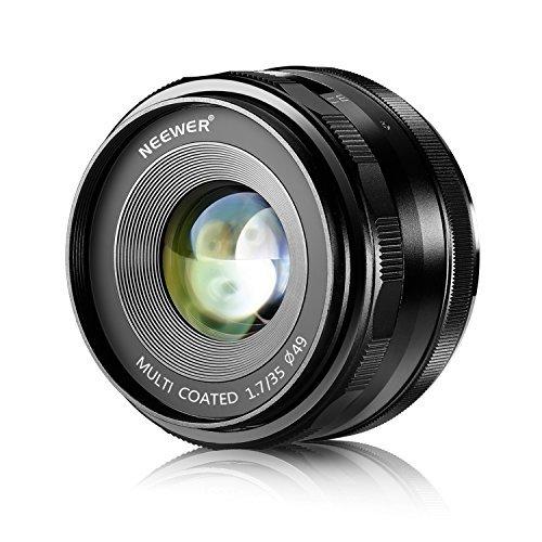 Neewer35mmf/1.7LenticonFuocoManualeperFotocamereDigitaliSonyE-MountconSenso...