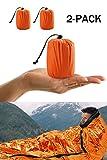 Notfall-Zelt, Biwaksack Survival Schlafsack für Erste Hilfe?Notfall Outdoor Tube Zelt mit Ultraleicht hitzeabweisend Kälteschutz