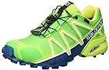 Salomon Speedcross 4 GTX, Scarpe da Trail Running Uomo, Verde (Classic Lime Green/Poseidon 000), 46 2/3 EU