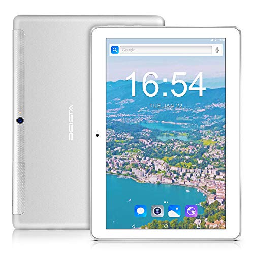 4G Tablet 10 pollici BEISTA-(4G LTE,Wifi, Android 7.0,Quad-core,32GB ROM,2GB RAM,slot scheda...