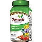 Osmocote 277160smart-release planta de flores y hortalizas alimentos, 14-14-14, 1-Pound botella