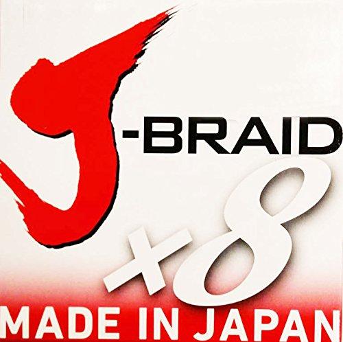 Daiwa J-Braid 8 Braid 0.18mm, 12,0kg/26,5lbs, 300m chartreuse, rund geflochtene Angelschnur