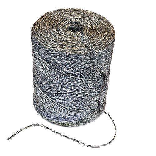 Pack cuerda 450m, cordel hilo de material reciclado, alternativa a Sisal Cordón