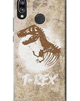 T-Rex Jurassic Fossil Case Cover Custodia per Huawei P20 Lite
