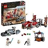 LEGO-Star WarsTM La course poursuite en speeder sur Pasaana Jouet Enfant à Partir de 8 ans, 373 Pièces à Construire 75250