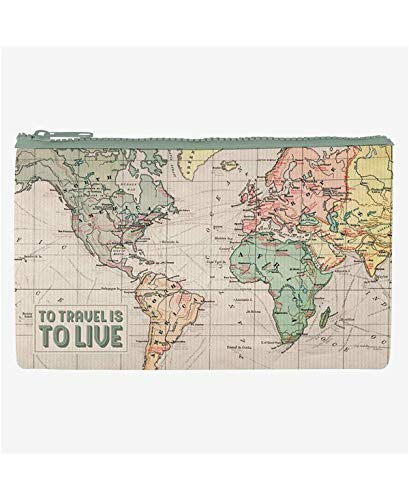 Legami Zipper Pouch Funky Collection - Travel