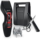 Philips HAIRCLIPPER Series 3000 HC3420/83 cortadora de pelo y maquinilla Negro, Rojo Recargable - Afeitadora (Negro, Rojo, 0,5 mm, 2,3 cm, 4,1 cm, Acero inoxidable, 60 min)